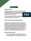 Developing a business plan term
