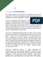 Pakistan ::an Introduction