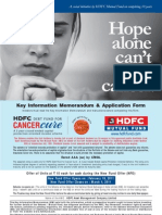 HDFC Debt Fund Cancer Cure(Hope alone can't fight cancer)