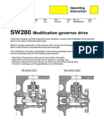 SW280 Modification governor drive