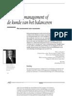 Informatiemanagement of de kunst van het balanceren