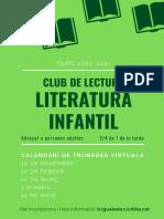 Club de lectura Literatura infantil Programació 2020-2021