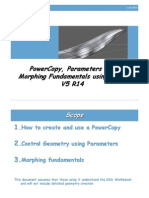 PCopy Parameters and Morphing Fundamentals