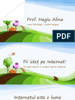 Fii isteț pe Internet!.pptx