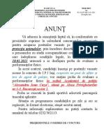 anunt_locatie_proba_fizica