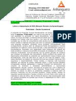 """6º E 7º SEMESTRE ADM 2021 - """"a Empresa """"Praticidade"""" – Gestão Sustentável"""