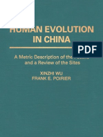 Wu & Poirier - Human Evolution in China - 95
