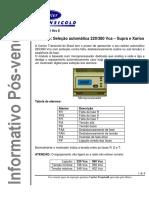 INFO11-001_Rev_E - Seleção automática 220 Vca ou 380 Vca  (1)