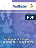 Manual de estrategias de litigio con enfoque de genero