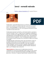 Hipertiroidismul_remedii naturiste