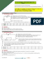 Cours - Physique caractéristiques d'un dipole générateur - 2ème Informatique (2014-2015) Mr Bouazizi Jilani