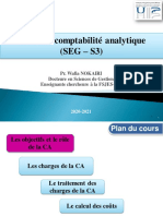Chapitre 1. Objectifs et rôle de la comptabilité analytique (1)
