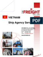 The Freight Co Ltd - Vietnam Ship Agency Services