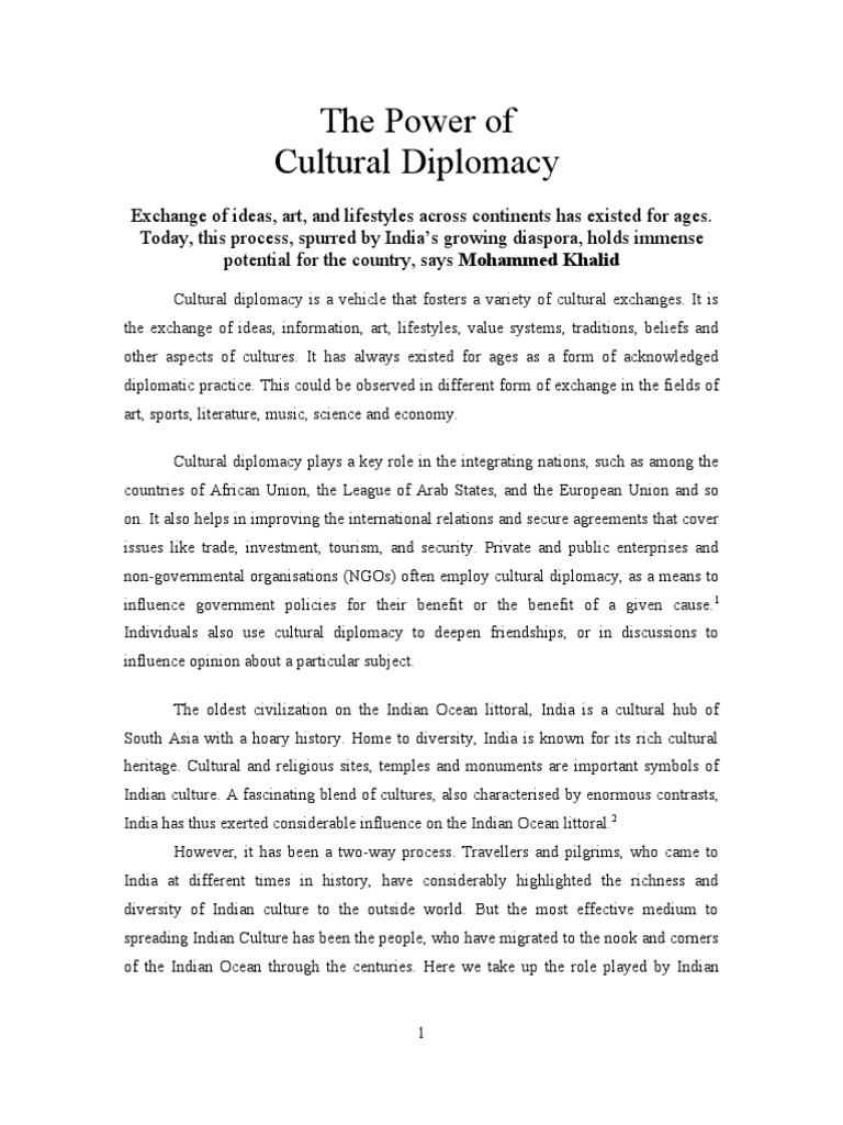 Indian Diaspora and Culture on African Littoral of the