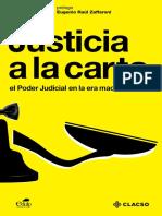Clacso, Zafaroni, Justicia a La Carta, Introducción Páginas 1,5,25 30