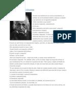 Reflexión de Albert Einstein