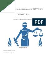 ROMANO II-UNE- GRUPO 4 TAREA 14 - UNIDAD 25