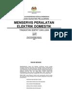 P.Vokasional - Menservis Peralatan Elektrik Domestik - Ting. 4 dan 5