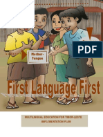 MOTHER TONGUE-BASED MULTILINGUAL EDUCATION FOR TIMOR-LESTE