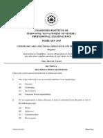 CIPM Exam pass question - Organizational Behaviour