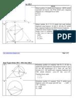 Soal Lingkaran untuk kelas 8.1, 8.2, dan 8.3
