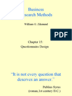15. Research Methodology - I