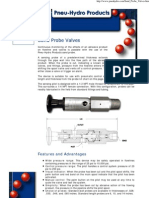 Pneu-Hydro Products' Sand Probe Valves