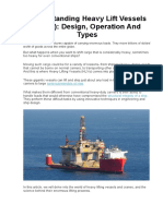 Understanding Heavy Lift Vessels (HLVs) Design, Operation And Types