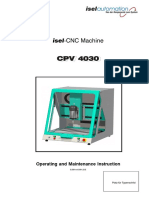 isel-CNC Machine - Bedienungsanleitungen _ Manuals isel
