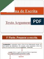 Oficina de Escrita - Texto Argumentativo.pptx