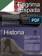 Cartilha de esgrima, manual em espanhol