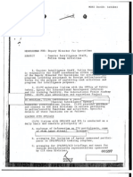 1973 CIA Report on Its Relationship with the USAID Office of Public Safety