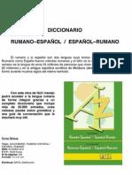 METODOS IDIOMAS Ficha Tecnica Diccionario de Rumano-Español, Español-Rumano