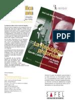 MUNDO ARABE_Ficha Tecnica_La Republica a Ejericito y Poder Politico en Argelia