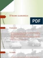 Il boom economico
