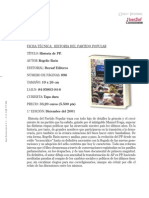 POLITICA_Ficha Tecnica_Historia Del Partido Popular