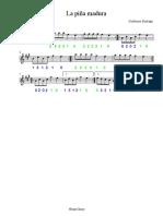 la piña madura  - partitura.pdf