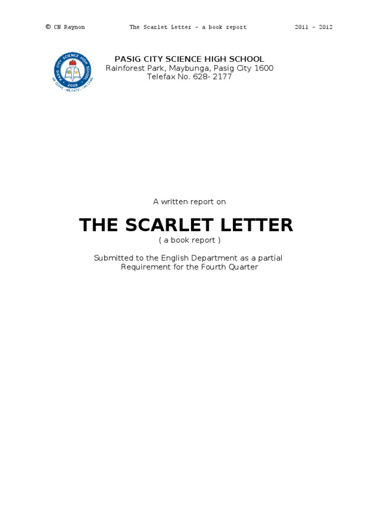 second scaffold scene scarlet letter