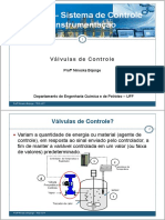 Aula 09_Instrumentação_Válvulas de Controle_2014
