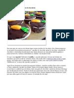 Cupcake de Páscoa (com gotas de chocolate)