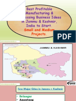 Best Profitable Manufacturing & Processing Business Ideas in Jammu & Kashmir, India to Start. Small and Medium Projects.-677393-
