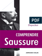 Depecker - Comprendre Saussure d'après les manuscrits-Armand Colin (2009)