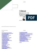 JesRICART Ideas. Manuscrito de Impertinencias