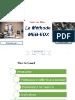 Présentation MEB EDX