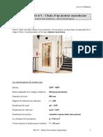 DS n°1 - Choix d'un MAS
