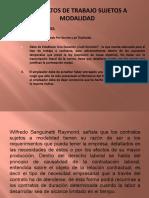 CONTRATOS SUJETOS A MODALIDAD-CLASE IV