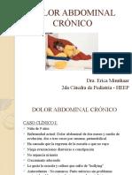 DOLOR ABDOMINAL CRÓNICO - 5to año - modificado.pptx