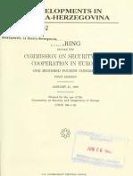 developments in bosnia 1995jan