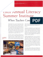 Adelphi Ruth S. Ammon School of Education - 18th Annual Literacy Summer Institute