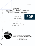 Skylab 1/4 Technical Air-to-Ground Voice Transcription Vol 1 of 7